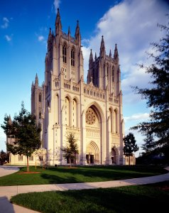 "Only the Episcopal Church would call their cathedral ""The National Cathedral"""